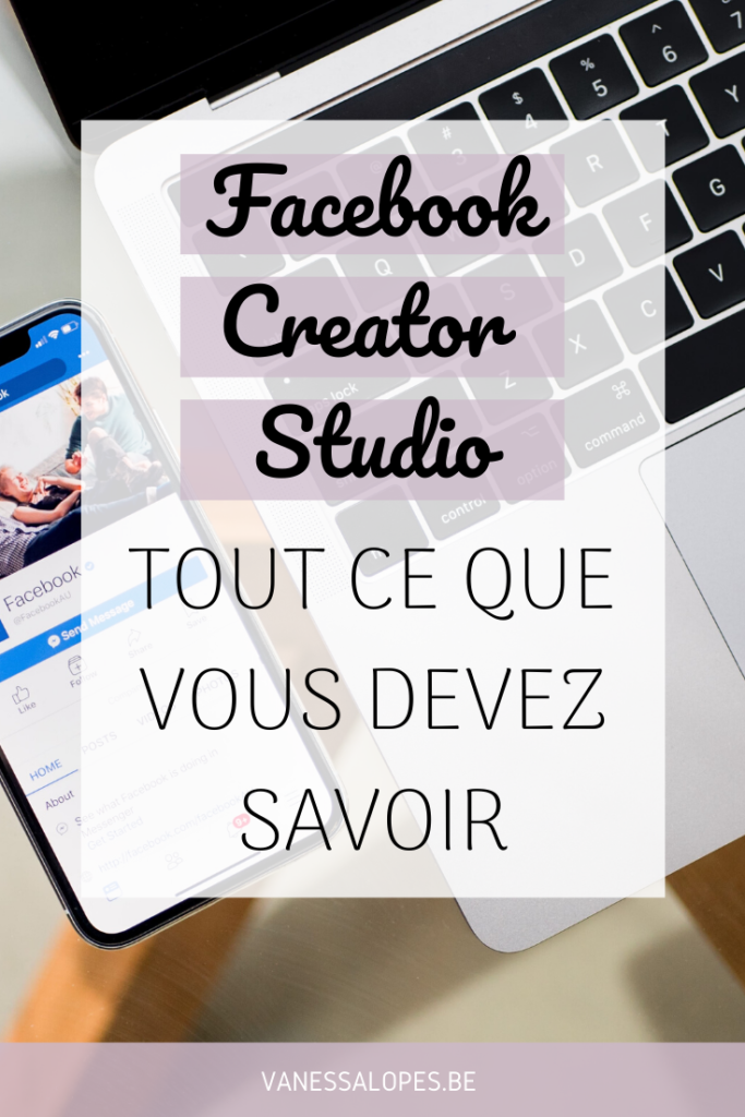 Facebook Creator Studio - Pinterest