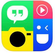 Logo de l'application gratuite PhotoGrid pour faire des stories Instagram