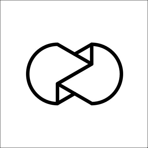Logo de l'application Unfold disponible gratuitement sur iOS et Android