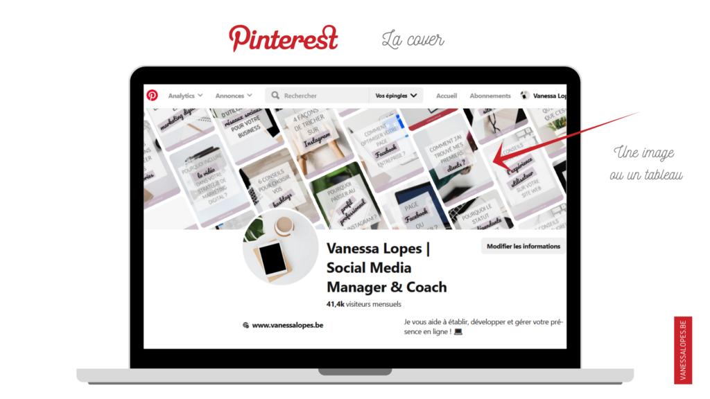 La cover Pinterest