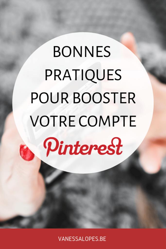 Booster son compte Pinterest - Astuces et bonnes pratiques