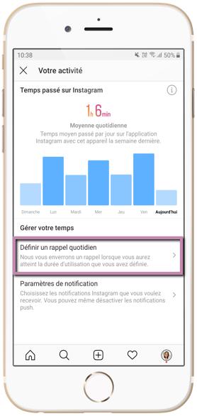 Accro à Instagram : accéder à votre activité