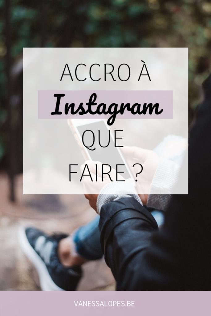 Que faire lorsqu'on est accro à Instagram ? - Pinterest