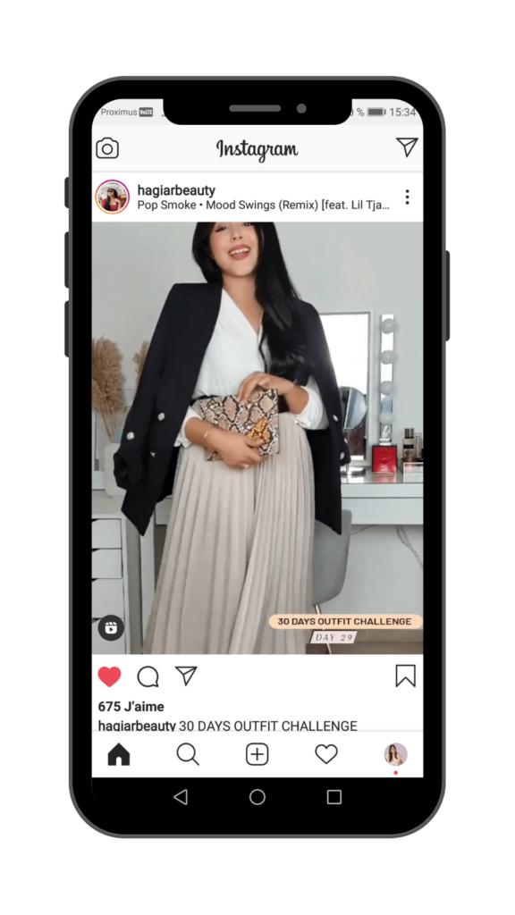 Vanessa Lopes - Article Instagram Reels - Fil d'actualité