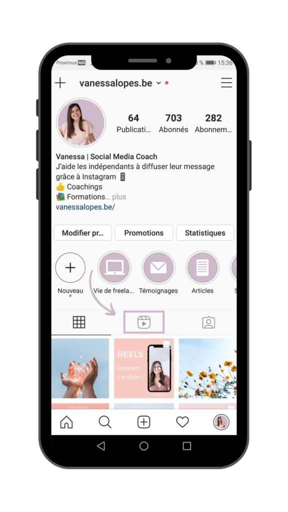 Vanessa Lopes - Instagram Reels - Où trouver des reels